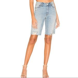 Free People Denim Bermuda shorts